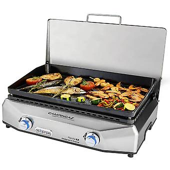 Campingaz silver master plancha lx table top gas barbecue