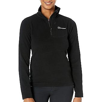Berghaus Prism Micro Fleece Polartec Womens 1/2 Zip Outdoor Top Black