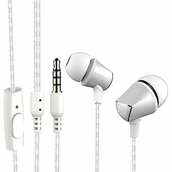 Cocoon 100 Series Noise-Isolating Tangle Free In-Ear Headphone - Silver
