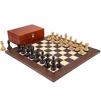 Windsor Rosewood og Montgoy Palisander Chess Sett