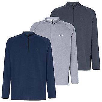 Oakley Mens Range Pullover 2.0 1/4 Zip Golf Melange Sweater