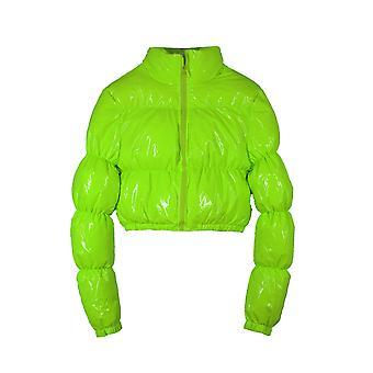 Fashion Puffer Jacket, Cropped Parka Bubble Coat