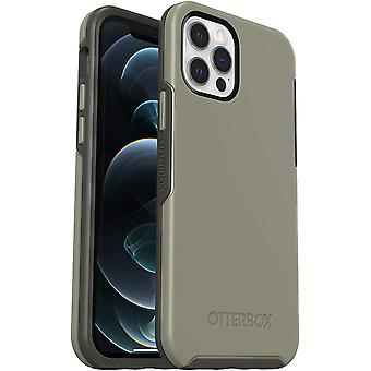 OtterBox Symmetry Series, Sleek Protection for Apple iPhone 12/12 Pro - Grey