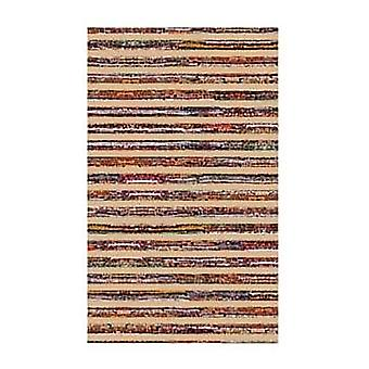 Spura Home Colored Stripes Notebook Pattern Bodhan  5x8 Area Rug
