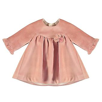 Mayoral baby girls velvet pink dress 2862