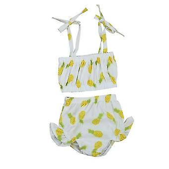 Cute Baby Girl Pineapple Swimsuit