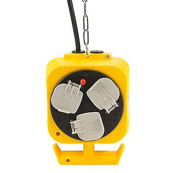 Brennenstuhl 1151763 Extension Cable with Hanging Workshop Energy Cube GB