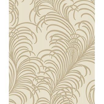 Cabaret Cream Wallpaper