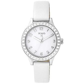 Tous watches straight kids watch for Analog Quartz Child with Cowhide Bracelet 000351415