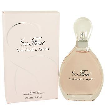 So First Eau De Parfum Spray By Van Cleef & Arpels 3.3 oz Eau De Parfum Spray