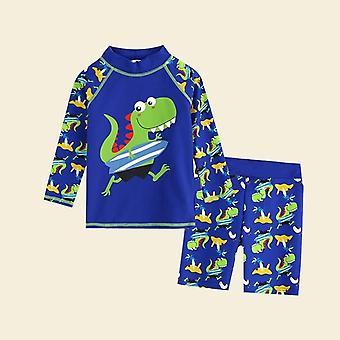 Traje de baño para niños bañador trunk beach cap bebé dibujos animados traje de baño