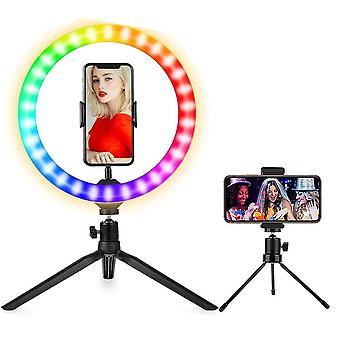 Dimmable Ring Light With Tripod