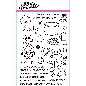 Heffy Doodle Lucky Friends Clear Stamps