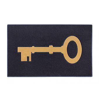 fußmattenschlüssel 45 x 70 cm Gummi schwarz
