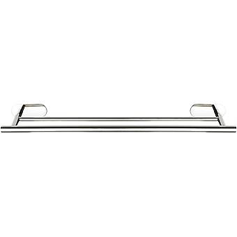 towel holder Duo Orea 60 x 12 cm stainless steel silver