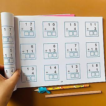 Addition und Subtraktion Arithmetische Problem Karte Übungsbuch