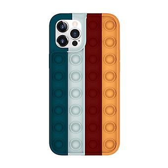 Lewinsky iPhone 8 Plus Pop It Case - Silicone Bubble Toy Case Anti Stress Cover