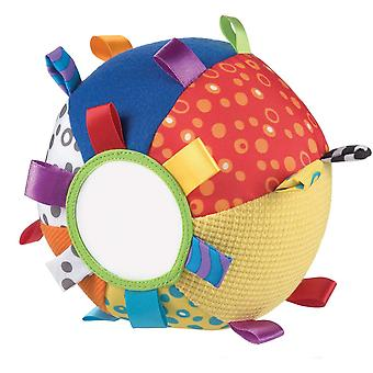 FengChun Mein erster Schmuseball, Lernspielzeug, Ab 3 Monate, Loopy Loops, Bunt, 40079