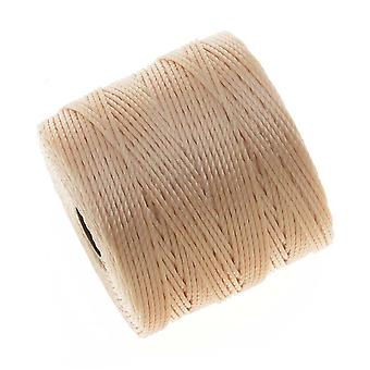 Super-Lon (S-Lon) Cord - Size #18 Twisted Nylon - Natural Beige / 77 Yards