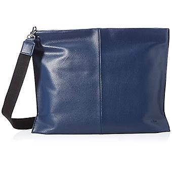 s.Oliver Women's 201.10.103.30.300.2064455.Chiara Satchel Bag, Dark Blue, L x B x H: 44.0 x 1.0 x 34.0 cm