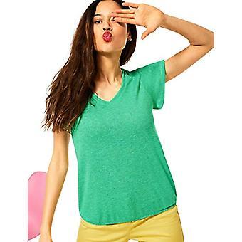 Street One 316188 T-Shirt, Yucca Green Melange, 50 Woman