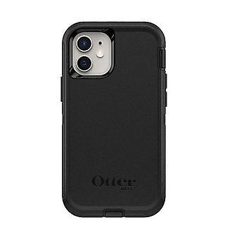 Otterbox Defender Serie Caso Apple Iphone 12 Mini Negro
