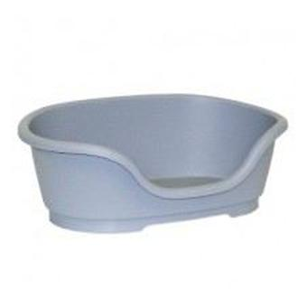 Yagu Oval Plastic Oval Bed Domus Grey (Chiens , Literie , Lits)