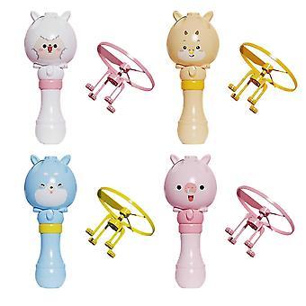 Seifenblase Maschine fliegen Bambus blasen Blase Maschine Kinder Sommer Outdoor Spielzeug Blasen Gebläse Spielzeug Geschenk für Kinder pl-127