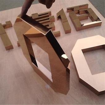 Outlet Meatal Letters