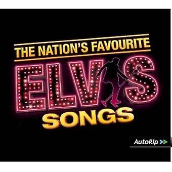 Elvis Presley - The Nation's Favourite Elvis Songs CD