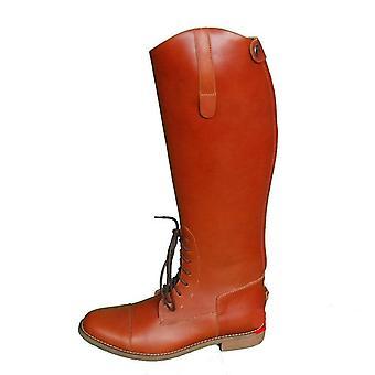 Unisex Ridstövlar i läder i läder
