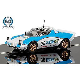 Scalextric C3827A 60-lecie Kolekcja 1970 Lancia Stratos Limitowana edycja