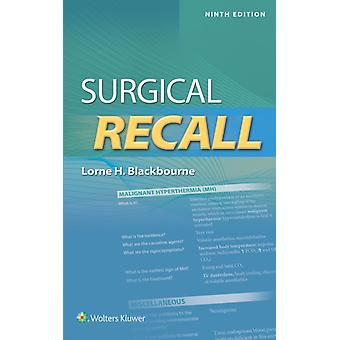 Surgical Recall by Lorne Blackbourne
