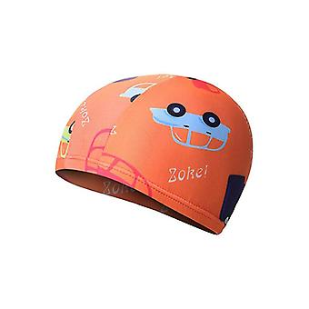 Swimming Cap Hat Bath For 2-8 Years Olds Kids With Disparate Color