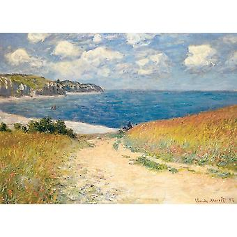 Eurographics Claude Monet Path Through the Wheat Fields Jigsaw Puzzle (1000 Pieces)