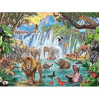 Ravensburger Waterfall Safari Jigsaw Puzzle (1500 Pieces)