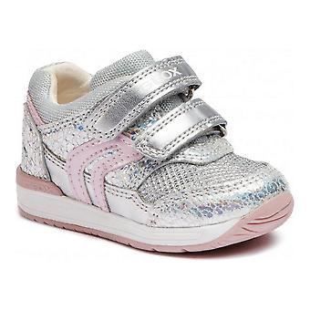 Sports Shoes for Kids Geox Rishon B840LA OKYAJ C0776 Silver