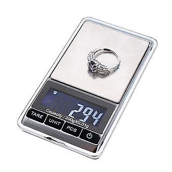300g x 0.01g Digital Mini Portable Pocket Jewelry Weight Balance Scale
