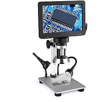 Digitales Elektronenmikroskop 1200X mit großem LCD-Bildschirm 1080p