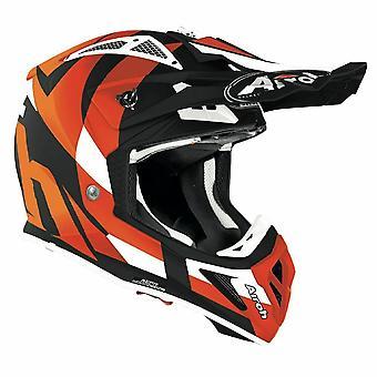 Airoh Aviator Ace Trick Off-Road Motocross ATV Helmet Orange