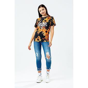 Hype Meisjes Daisy Row T-Shirt