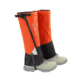 1 Pair leg gaiters waterproof hiking trekking gaiters camping hiking climbing skiing shoes cover boot legs protection guard