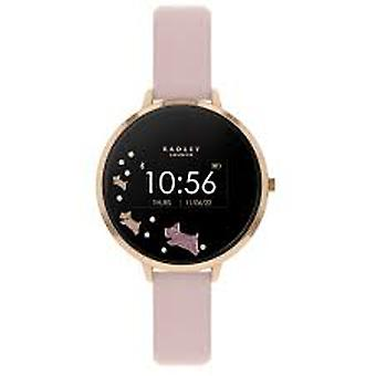 Radley Rys03-2002 Black Dial Leather Strap Ladies Smart Watch