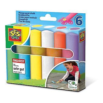 Aire de jeux pour enfants Chalks, 6 Pack