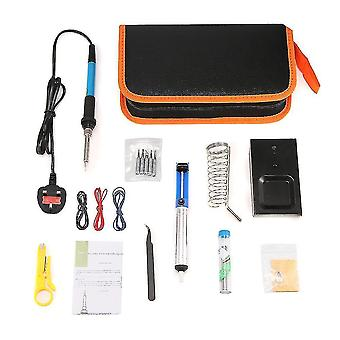 Tool bags electric soldering iron wood burning kit welding solder rework station heat pencil repair tools with