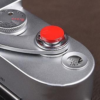 1pcs אדום מתכת תריס רך צמצם שחרור כפתור עבור Fujifilm X100 Slr מצלמה