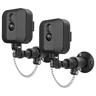 Black Wall Mount Bracket For Surveillance Camera
