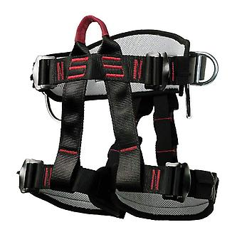 Climbing Harness Safety Thicken Adjustable Half Body Harness For Rock Mountain Tree Climbing Cave Rescue