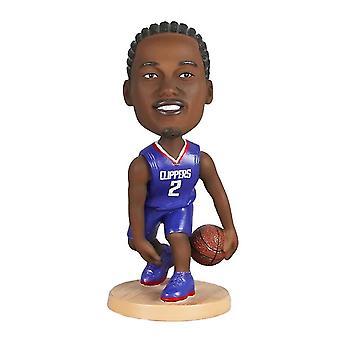 Caraele Kawhi Leonard Figurine d'action Statue Bobblehead Basketball Doll Décoration