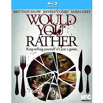 Would You Rather [BLU-RAY] USA import